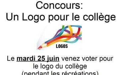 Votez pour le logo du collège